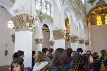 Sinagoga de Sta María la Blanca, Toledo