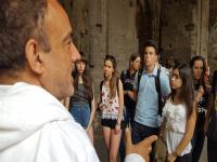 Coliseo,  viaje a Roma '17, Lenguas Clásicas, 1ºBachillerato.
