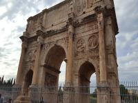 Arco de Constantino,  viaje a Roma '17, Lenguas Clásicas, 1ºBachillerato.
