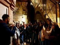 Catacumbas de San Sebastián, Roma, alumnos de 1ºBachillerato 2019, Religión.