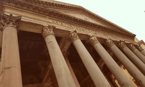 Panteón de Agripa,  viaje a Roma '17, Lenguas Clásicas, 1ºBachillerato.
