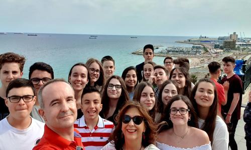 Balcón del Mediterráneo, Tarragona 2019, Seminario de Religión, alumnos 2º/3º ESO.