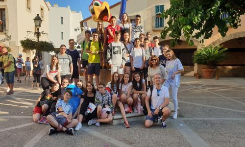 Parque de Atracciones PortAventura. Seminario de Religión 2019.